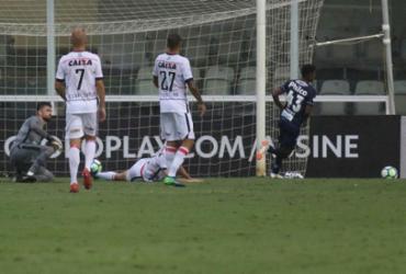 Vitória falha demais, vê show de Rodrygo e fica com pior defesa | Marco Silva | Estadão Conteúdo