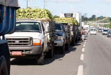 Para retomar transporte de carga, empresas ignoram tabela de frete | Luciano da Matta | Ag. A Tarde