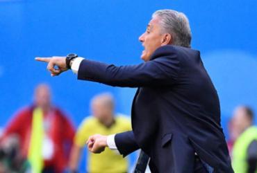 Apesar de sofrimento, Tite diz que Brasil 'deu aula' de futebol no segundo tempo | Christophe Simon | AFP