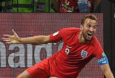 Kane marca nos acréscimos e Inglaterra estreia com vitória suada sobre a Tunísia | Mark Ralston l AFP