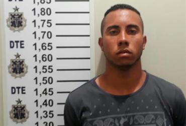 Suspeito de atirar a esmo e matar jovem durante festa é preso em Porções | Reprodução | Site Poções 24 Hs