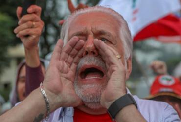 Jaques Wagner visita Lula em Curitiba   Ricardo Stuckert   Divulgação