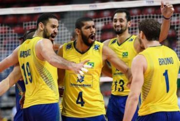 Seleção masculina atropela Austrália e encerra série negativa | FIVB | Divulgação