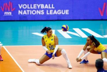 Seleção feminina treina no Japão de olho na fase final da Liga das Nações | Gaspar Nóbrega | Inovafoto | CBV