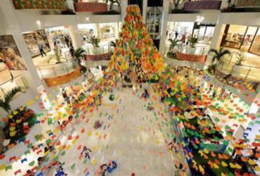 Forró no Shopping Barra promete animar a criançada no fim de semana   Divulgação