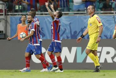 Com golaço no fim do jogo, Bahia supera o Corinthians na Fonte Nova | Adilton Venegeroles l Ag. A TARDE