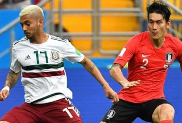 México bate Coreia do Sul e coloca o pé nas oitavas de final | AFP
