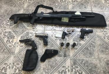 PM é preso suspeito de vender armas de forma irregular | Divulgação | SSP