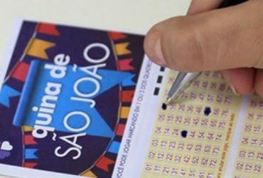 Seis apostadores levam prêmio da quina de São João | Divulgação | CEF