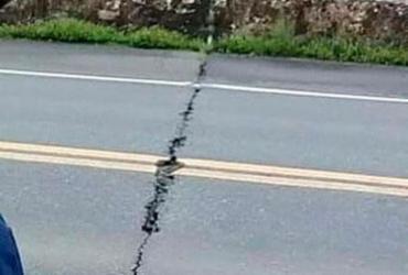 Rachadura em ponte assusta motoristas; órgãos afirmam que fissura é 'normal' | Cidadão Repórter | Via WhatsApp
