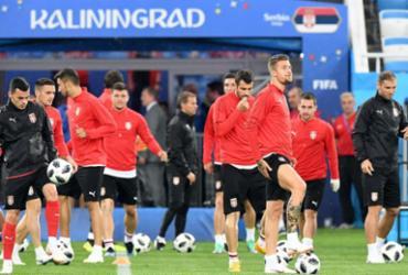 Sérvia enfrenta a Suíça e sonha com vaga antecipada | Attila Kisbenedek | AFP