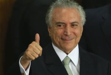 Temer critica propostas de revogar reformas e brinca com 'movimento'   Marcelo Casal Jr.   Agência Brasil