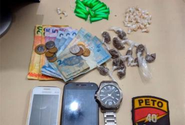 Dois suspeitos de tráfico de drogas são presos no Nordeste de Amaralina | Divulgação | SSP-BA
