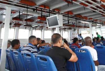 Sem orientação, usuários abrem mão dos coletes durante travessia   Luciano Carcará   Ag. A TARDE