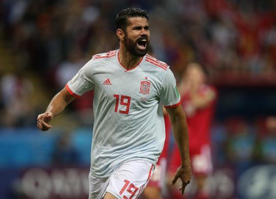 Com gol 'chorado' de Diego Costa, Espanha derrota o Irã pelo Grupo B   Roman Kruchinin l AFP