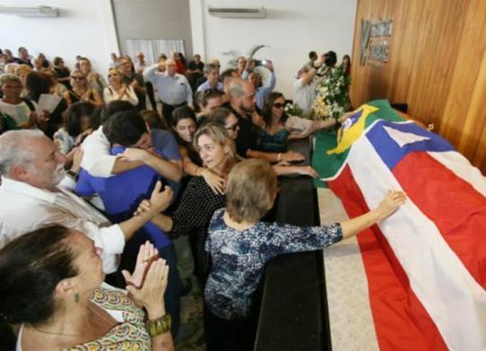 Corpo de Waldir Pires é cremado em Salvador | Raul Spinassé | Ag. A TARDE