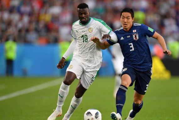 Em jogo marcado por recordes, Japão e Senegal empatam e seguem juntos na ponta | AFP