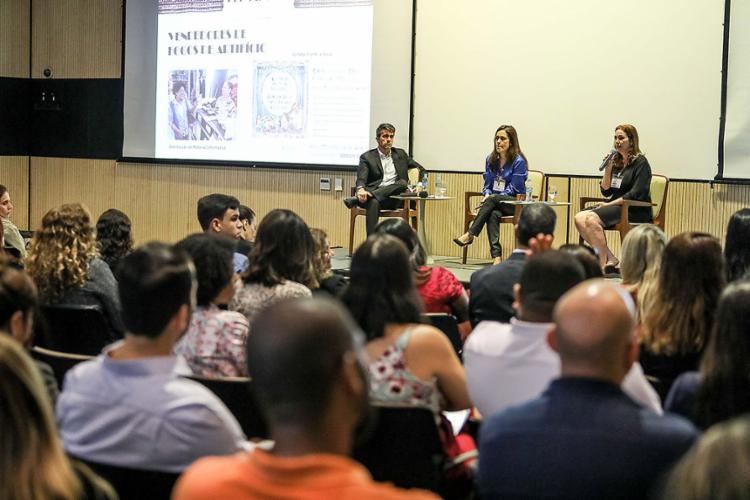 Evento foi realizado no auditório do Espaço Verde Paralela, na sede da Odebrecht, em Salvador - Foto: Divulgação