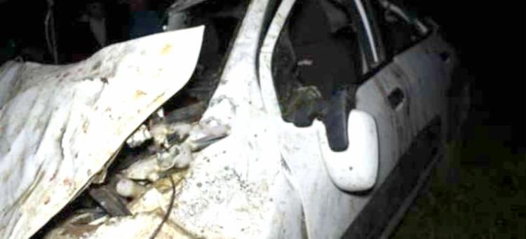 De acordo com uma das vítimas, o motorista teria ingerido bebida alcoólica em uma festa - Foto: Reprodução | Medeiros Dia a Dia