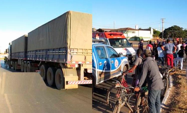Samu e Polícia Militar foram estiveram no local da tragédia - Foto: Reprodução | Blog do Marcelo