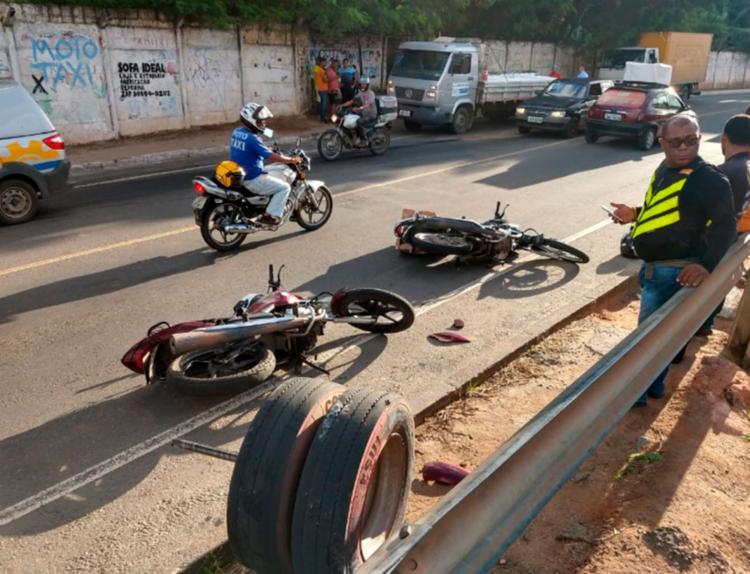 Colegas de profissão da vítima presenciaram o acidente