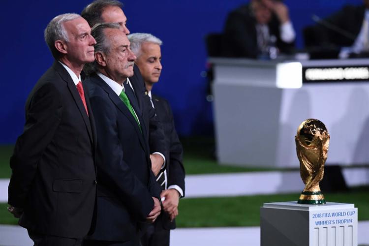 Representantes dos três países acompanharam o anúncio nesta quarta - Foto: Kirill Kudryavtsev | AFP