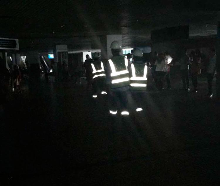 Funcionários da Coelba foram enviados ao local para verificar a situação