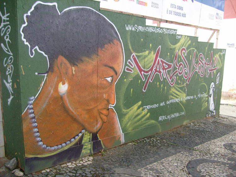 Temas como preconceito, empoderamento, mulher negra e heróis negros também serão representados nas pinturas - Foto: José Paranaguá