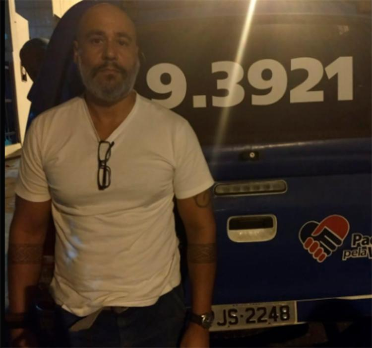 Edmilson da Penha, 52 anos, foi preso na avenida Pinto de Aguiar - Foto: Divulgação   SSP-BA
