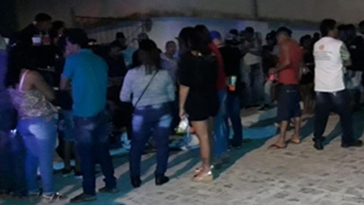 As vítimas teriam se envolvido em uma briga durante uma festa no centro da cidade - Foto: Reprodução   Site Calmon Noticias