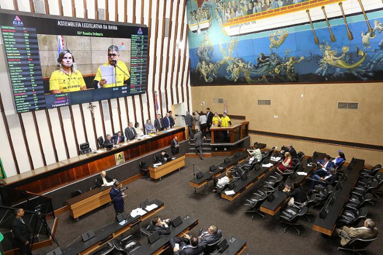 O texto da lei aprovada seguirá agora para sanção do governador Rui Costa - Foto: Sandra Travassos l AL-BA