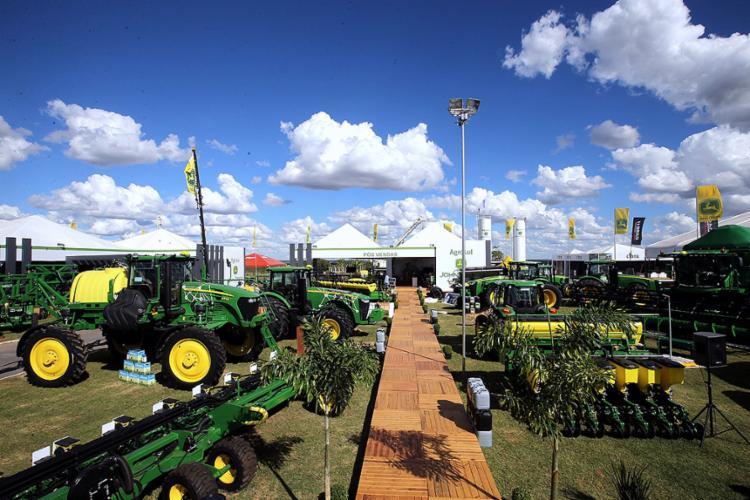 Resultados da safra influenciaram as vendas de maquinário agrícola na feira - Foto: Mateus Pereira l Gov-BA