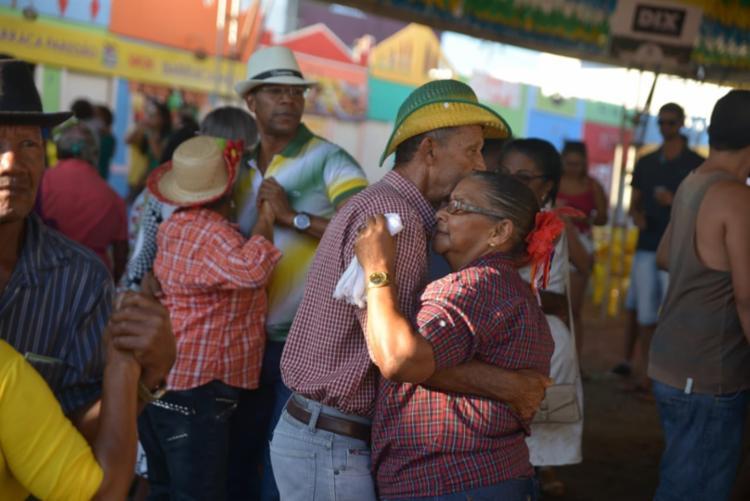 O evento marcou o início do segundo dia da Vila do Forró - Foto: Marcelo Machado   Divulgação
