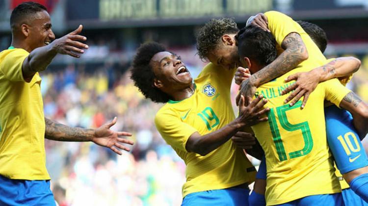 Tanto o Brasil quanto a Alemanha aumentaram suas pontuações no ranking - Foto: Lucas Figueredo   CBF