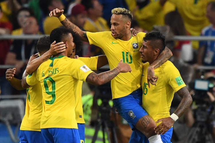 Seleção Brasileira terminou na liderança do grupo com sete pontos - Foto: Kirill Kudryavtsev l AFP