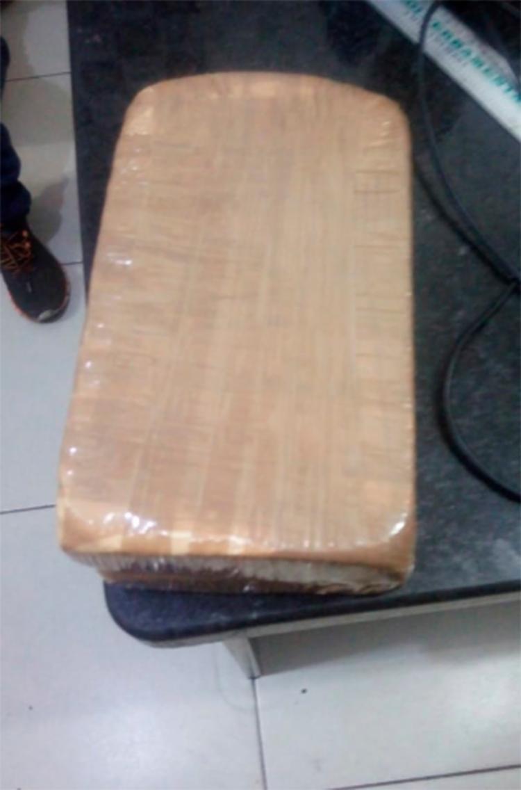 Tabletes de cocaína avaliados em R$ 30 mil iam para Ribeira do Pombal - Foto: Divulgação   SSP