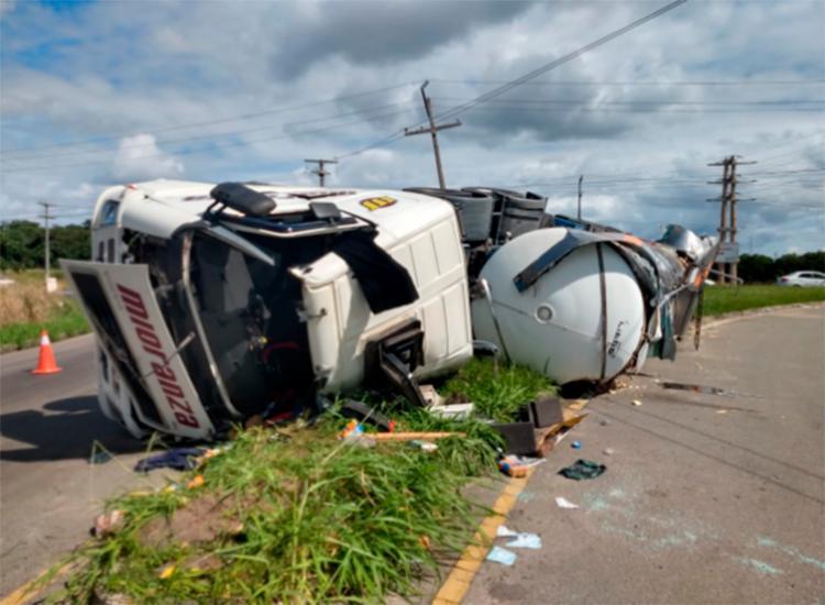 Acidente ocorreu no Polo Industrial de Camaçari - Foto: Divulgação   SSP
