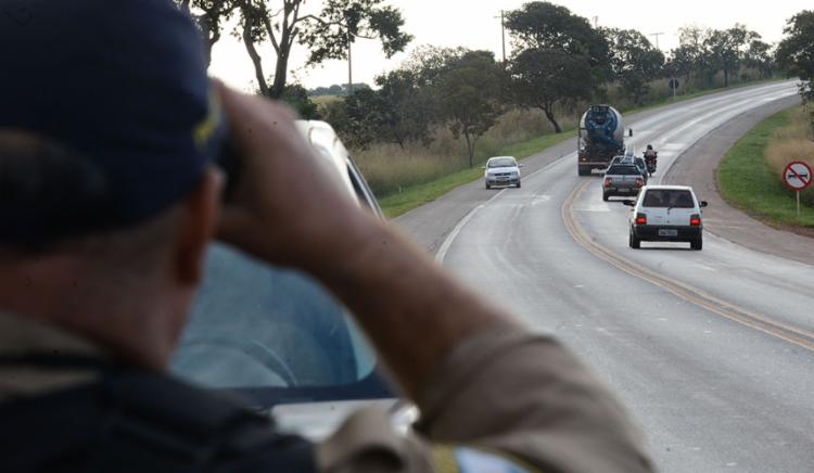 PRF monitorava suposta movimentação de 50 mil caminhoneiros para protesto - Foto: Marcello Casal Jr   Agência Brasil