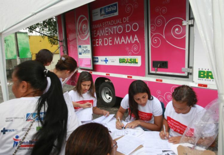 De acordo com a SESAB, serão atendidas 5.609 mulheres na ação - Foto: Divulgação