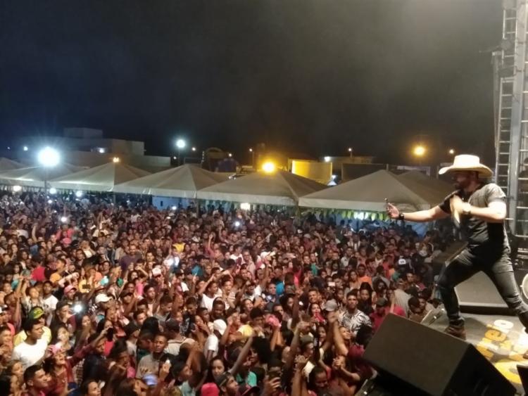 A Banda Arreio de Ouro animou o público em Canudos - Foto: Divulgação