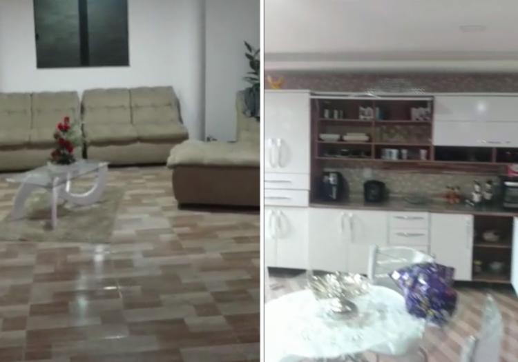 Residência de Elias fica na rua Baixa da Paz, na Santa Cruz - Foto: Divulgação   SSP