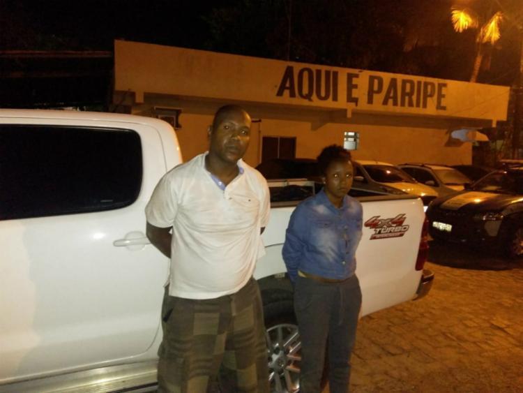 Luciana e Jamilton informaram que receberam R$ 10 mil para realizar o roubo - Foto: Divulgação | SSP
