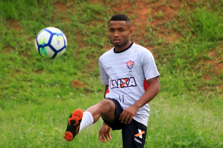 Cedric será titular pela segunda vez no Campeonato Brasileiro - Foto: Maurícia da Matta l EC Vitória