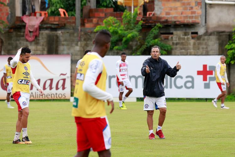 Claudinho Prates disse querer apenas preparar bom terreno para o técnico a ser contratado - Foto: Felipe Oliveira l EC Bahia