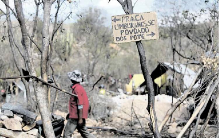 Serra da Quixaba, Sento Sé: o garimpo de ametista ameaçado de cair na clandestinidade - Foto: Adilton Venegeroles | Ag. A TARDE