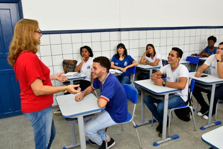 Os selecionados atuarão em redes de ensino estaduais - Foto: Divulgação | Secretaria de Educação