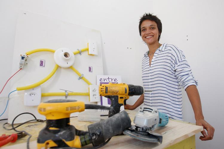 May, da Entre Minas, quer desconstruir ideia de que serviços sejam masculinos - Foto: Luciano da Matta l Ag. A TARDE
