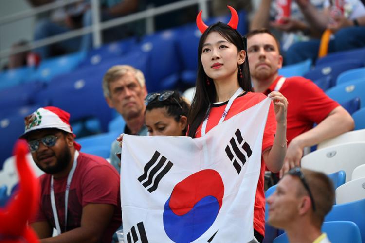 Suécia e Coreia do Sul fazem parte do grupo F - Foto: AFP