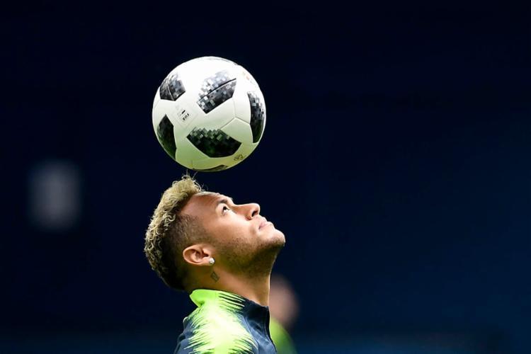 Equilíbrio psicológico da Seleção Brasileira será testado contra a Sérvia - Foto: Chistophe Simon   AFP