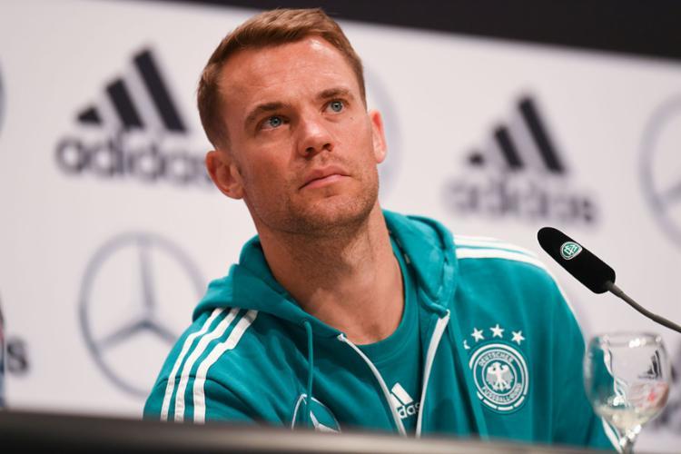 Para o goleiro alemão, uma vitória diante da Suécia aliviaria a pressão - Foto: Patrik Stollarz   AFP